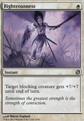 Duel Decks: Heroes Vs. Monsters: Righteousness