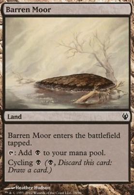 Duel Decks: Izzet vs Golgari: Barren Moor