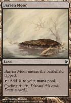 Duel Decks: Izzet Vs. Golgari: Barren Moor