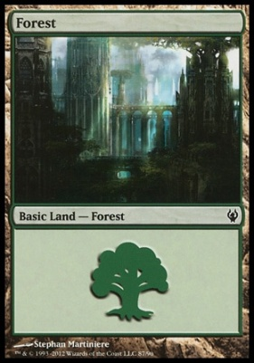 Duel Decks: Izzet Vs. Golgari: Forest (87 A)