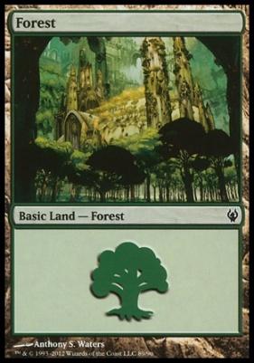 Duel Decks: Izzet Vs. Golgari: Forest (89 C)