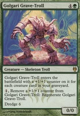 Duel Decks: Izzet vs Golgari: Golgari Grave-Troll