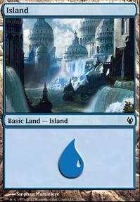 Duel Decks: Izzet Vs. Golgari: Island (37 A)