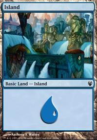 Duel Decks: Izzet Vs. Golgari: Island (39 C)
