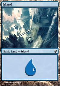 Duel Decks: Izzet Vs. Golgari: Island (40 D)