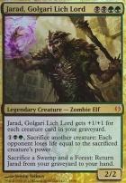 Duel Decks: Izzet vs Golgari: Jarad, Golgari Lich Lord