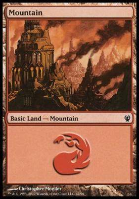 Duel Decks: Izzet Vs. Golgari: Mountain (42 B)