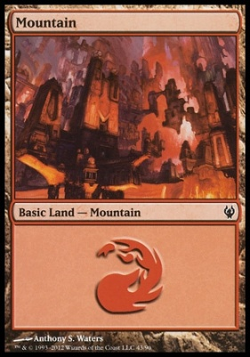 Duel Decks: Izzet Vs. Golgari: Mountain (43 C)