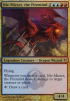 Duel Decks: Izzet Vs. Golgari: Niv-Mizzet, the Firemind (Foil)