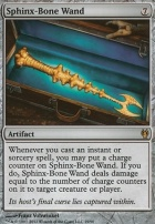 Duel Decks: Izzet Vs. Golgari: Sphinx-Bone Wand