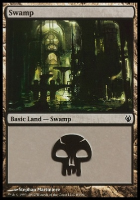 Duel Decks: Izzet Vs. Golgari: Swamp (83 A)