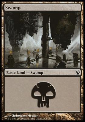 Duel Decks: Izzet Vs. Golgari: Swamp (84 B)