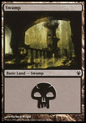 Duel Decks: Izzet Vs. Golgari: Swamp (86 D)
