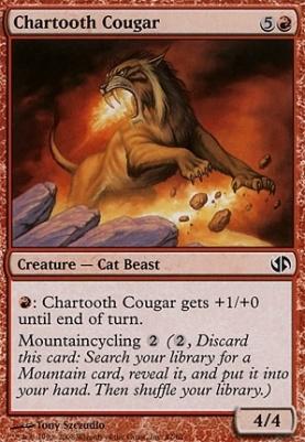 Duel Decks: Jace Vs. Chandra: Chartooth Cougar