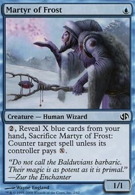 Duel Decks: Jace Vs. Chandra: Martyr of Frost