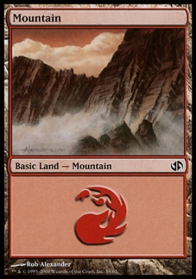 Duel Decks: Jace Vs. Chandra: Mountain (59 A)