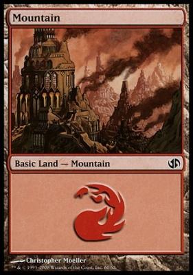 Duel Decks: Jace Vs. Chandra: Mountain (60 B)