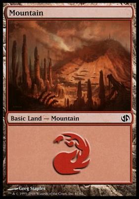 Duel Decks: Jace Vs. Chandra: Mountain (61 C)
