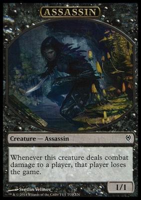 Duel Decks: Jace Vs. Vraska: Assassin Token