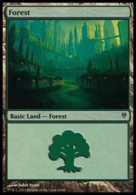 Duel Decks: Jace Vs. Vraska: Forest (84 A)