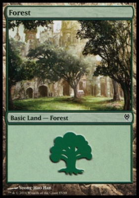 Duel Decks: Jace Vs. Vraska: Forest (85 B)