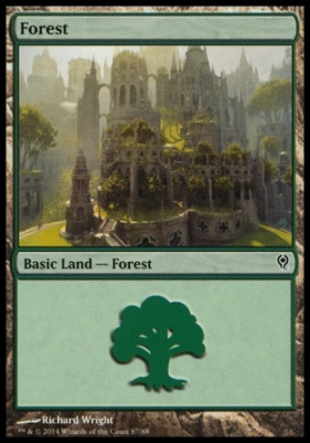Duel Decks: Jace Vs. Vraska: Forest (87 D)