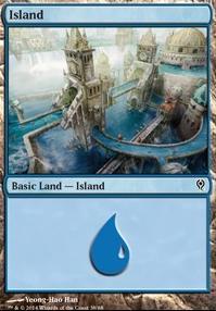 Duel Decks: Jace Vs. Vraska: Island (38 B)