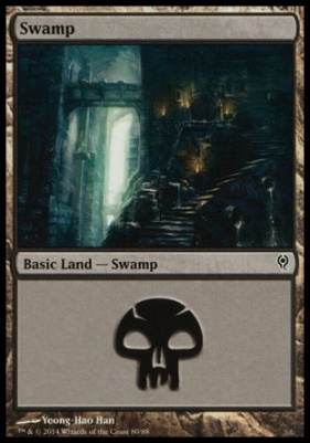 Duel Decks: Jace Vs. Vraska: Swamp (80 B)