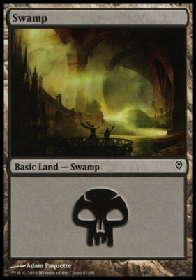 Duel Decks: Jace Vs. Vraska: Swamp (81 C)