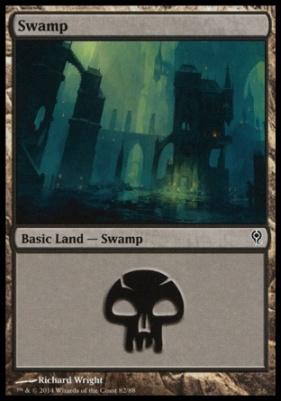 Duel Decks: Jace Vs. Vraska: Swamp (82 D)