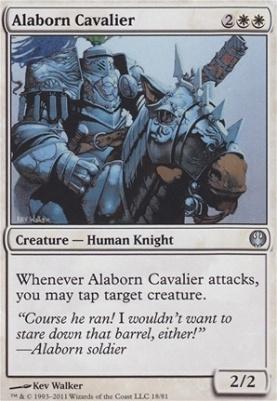 Duel Decks: Knights Vs. Dragons: Alaborn Cavalier