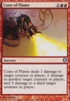 Duel Decks: Knights Vs. Dragons: Cone of Flame