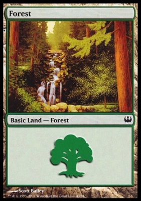 Duel Decks: Knights Vs. Dragons: Forest (43 A)