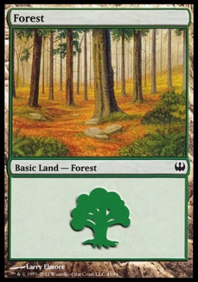 Duel Decks: Knights Vs. Dragons: Forest (45 C)
