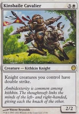 Duel Decks: Knights Vs. Dragons: Kinsbaile Cavalier