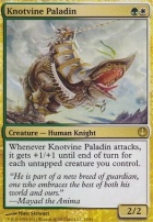 Duel Decks: Knights Vs. Dragons: Knotvine Paladin