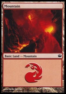 Duel Decks: Knights Vs. Dragons: Mountain (78 A)