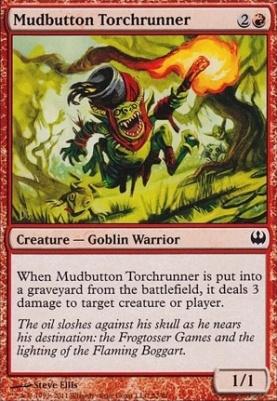 Duel Decks: Knights Vs. Dragons: Mudbutton Torchrunner