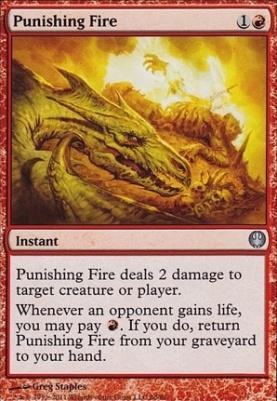 Duel Decks: Knights Vs. Dragons: Punishing Fire