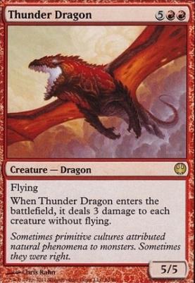 Duel Decks: Knights Vs. Dragons: Thunder Dragon