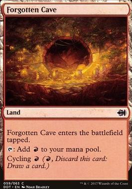 Duel Decks: Merfolk Vs. Goblins: Forgotten Cave