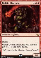 Duel Decks: Merfolk Vs. Goblins: Goblin Chieftain