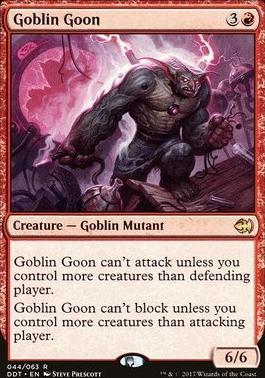 Duel Decks: Merfolk Vs. Goblins: Goblin Goon