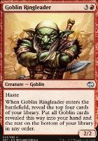Duel Decks: Merfolk Vs. Goblins: Goblin Ringleader