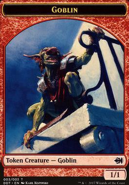 Duel Decks: Merfolk Vs. Goblins: Goblin Token