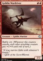 Duel Decks: Merfolk Vs. Goblins: Goblin Wardriver