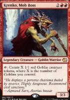 Duel Decks: Merfolk Vs. Goblins: Krenko, Mob Boss