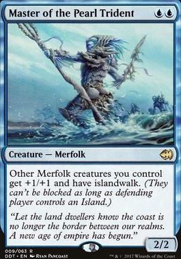 Duel Decks: Merfolk Vs. Goblins: Master of the Pearl Trident