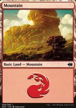Duel Decks: Merfolk Vs. Goblins: Mountain (060 A)