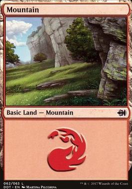 Duel Decks: Merfolk Vs. Goblins: Mountain (062 C)